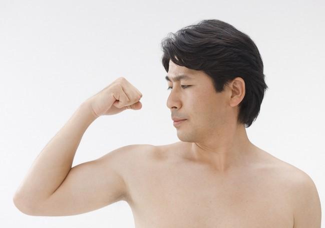 精力減退 筋肉量の低下