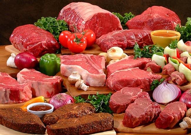 アルギニン 肉類