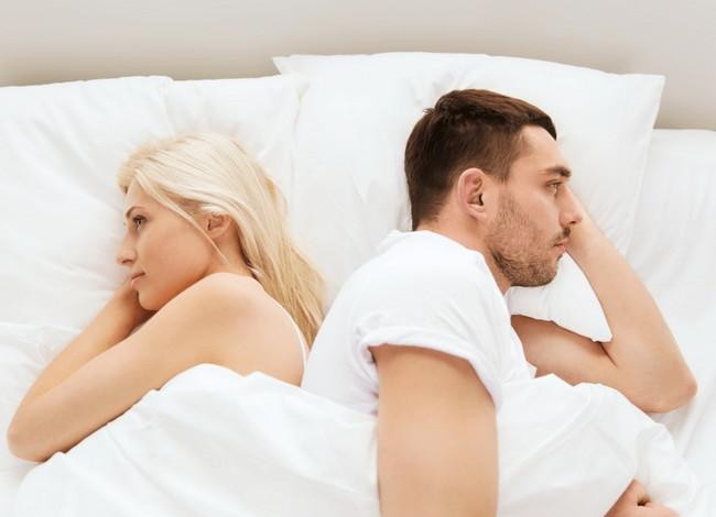 パートナーとの関係悪化 勃起力の低下