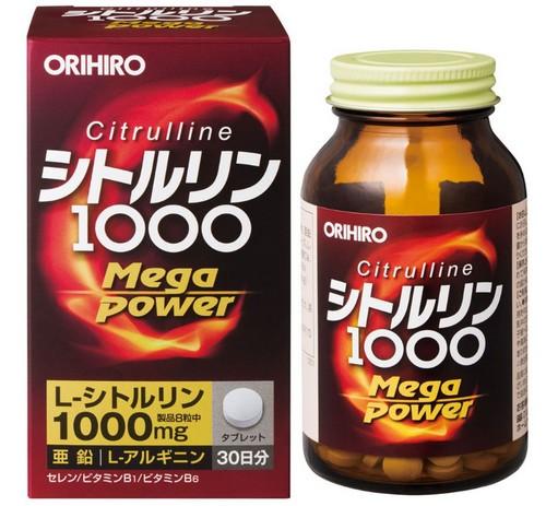 オリヒロ シトルリン MegaPower1000